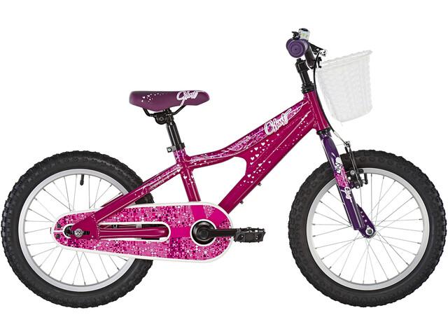 Ghost Powerkid AL 16 Enfant, dark fuchsia pink/violet/star white